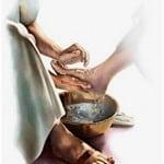 Jesus washing feet 12