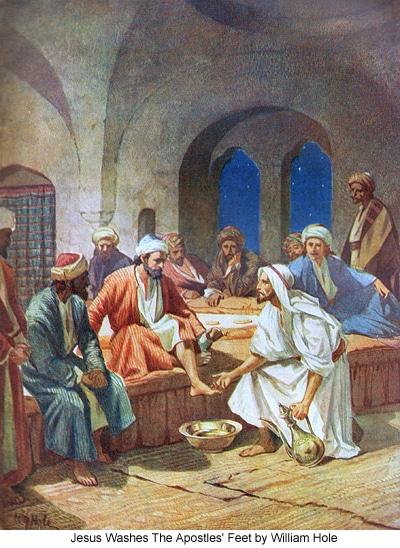 jesus washing feet 13