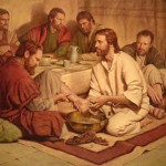 Jesus washing feet 14