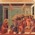 Jesus washing feet 15