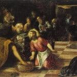 Jesus washing feet 16