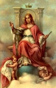 Kneel before Jesus
