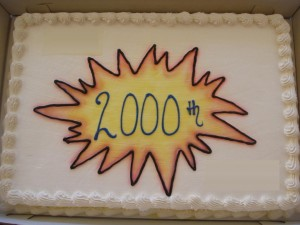 2000th Post on TBTG
