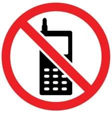 Avoid Using Mobiles