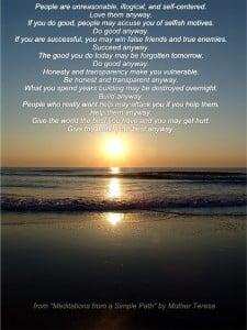 Mother Teresa Poem