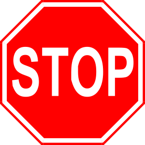 Stop Signs of The Spirit