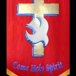 Holy Spirit Cross Dove