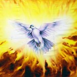 Holy Spirit Dove Fire