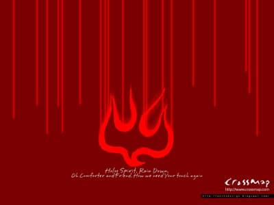 Holy Spirit Red Image