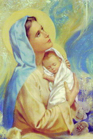 mother mary images set 16