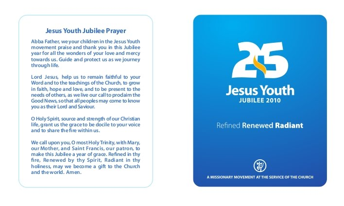 Jesus Youth Jubilee Prayer