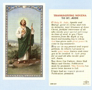st jude novena prayer