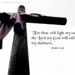 Psalm 18:28 Wallpaper
