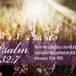 Psalm 32:7 Wallpaper