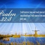 Psalm 32:8 Wallpaper
