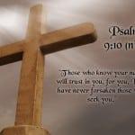 Psalm 9:10 Wallpaper