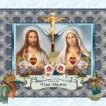 Jesus and Mary clipart