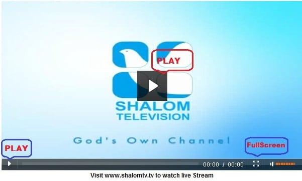 Shalom TV Live Online