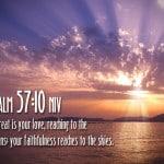 Psalm 57:10 Wallpaper