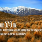 Psalm 57:3 Wallpaper