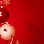 Christmas Balls Wallpaper 05