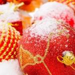 Christmas Balls Wallpaper 06