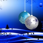 Christmas Balls Wallpaper 08