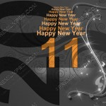 Happy New Year 2011 Wallpaper 09