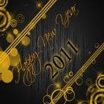 Happy New Year 2011 Wallpaper 11