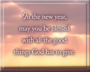 New Year Prayer