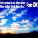 Psalm 100:5 Wallpaper
