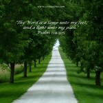 Psalm 119:105 Wallpaper