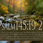 Psalm 145:19-21 wallpaper