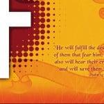 Psalm 145:19 Wallpaper