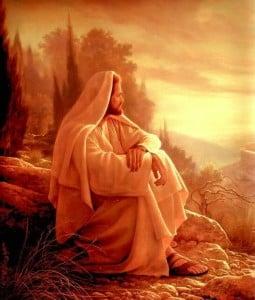 Jesus Waiting For Next Sunday