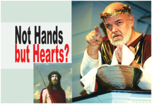 Not Hands But Hearts
