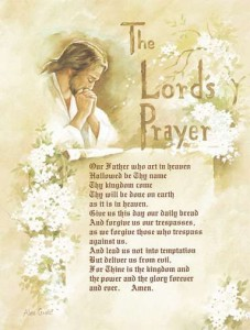 The Lord's Prayer Poem