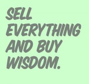 Whatever It Takes, Pursue Wisdom