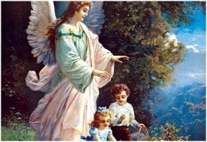 Angel and Kids