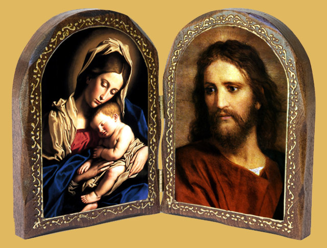 catholic wood diptychs mother mary wooden1 mother mary wooden2 wood