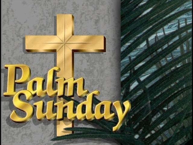Palm Sunday Wallpaper 03