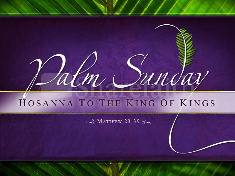 Palm Sunday Wallpaper 05