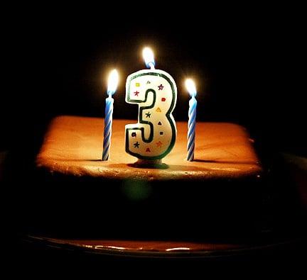 Third Anniversary of TurnBackToGod
