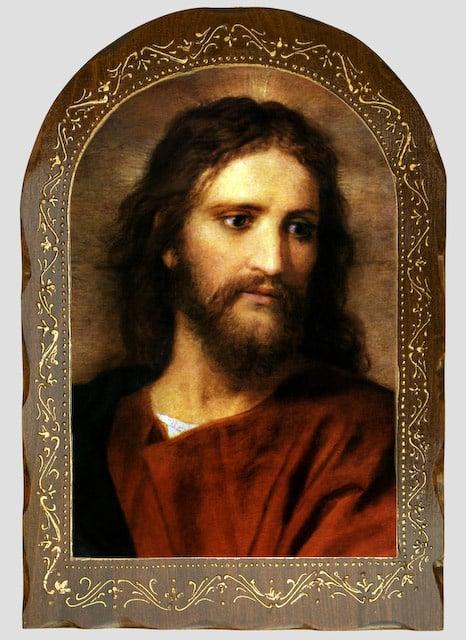 Wood Mounted Christ