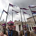 Polish pilgrims in St Peter's Square