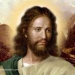 Jesus Face Paintings 06