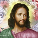 Jesus Face Paintings 14