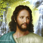 Jesus Face Paintings 16