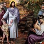 Jesus Oil Paintings 05