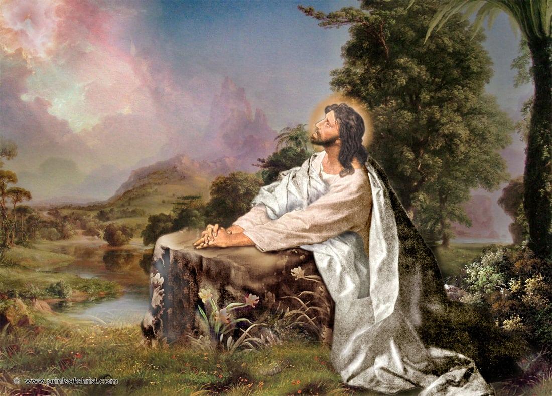 Jesus Oil Paintings